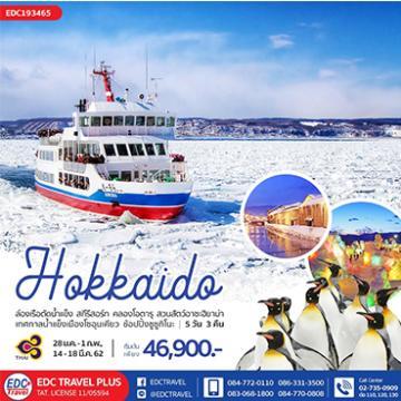 ทัวร์ญี่ปุ่น HOKKAIDO ICEBREAKER 5 วัน 3 คืน โดยการบินไทย[TG]