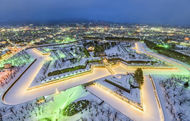 ทัวร์ญี่ปุ่น GOAL JAPAN SNOW HOKKAIDO HAKODATE