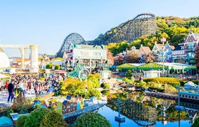 ทัวร์เกาหลี เกาหลี สวนสนุกเอเวอร์แลนด์