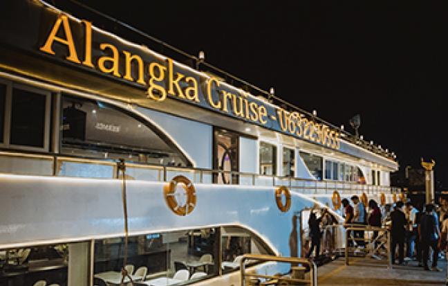 ทัวร์เรือ Alangka Cruise ล่องเรือแม่น้ำเจ้าพระยา