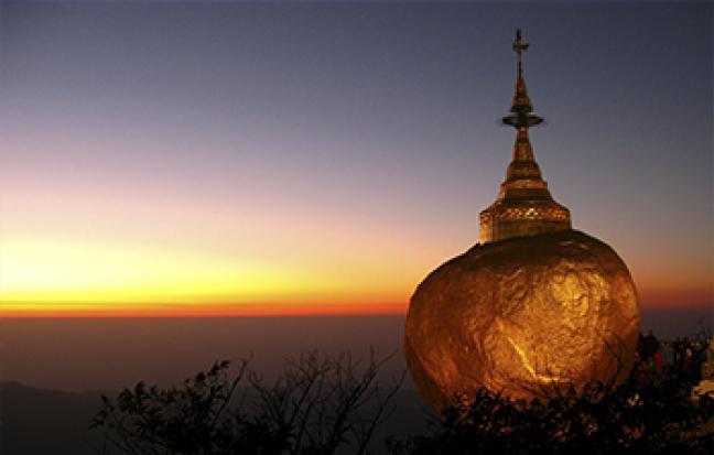 พม่า ย่างกุ้ง หงสา สิเรียม อินทร์แขวน  [เลสโก มหาเจดีย์ทอง]
