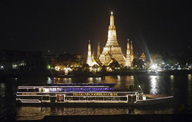 ล่องเรือเเม่น้ำเจ้าพระยา, Chaophraya,  Amazing ,Dinner Cruise