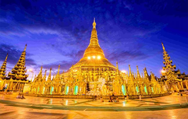 ทัวร์พม่า MYANMAR  ย่างกุ้ง อินทร์แขวน สิเรียม