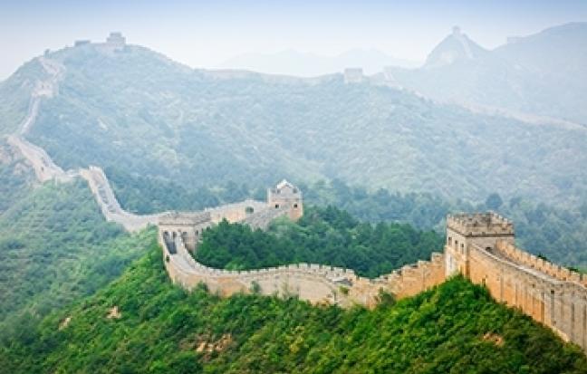 มนต์รักดอกท้อ ปักกิ่ง กำแพงเมืองจีน (นั่งกระเช้า)