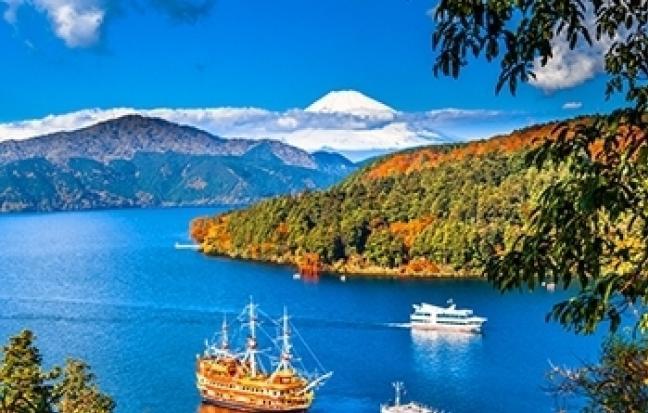 ทัวร์ญี่ปุ่น ฮอกไกโด เช็คอิน ล่องเรือทะเลสาบโทยะ เกาะนากาจิมะ