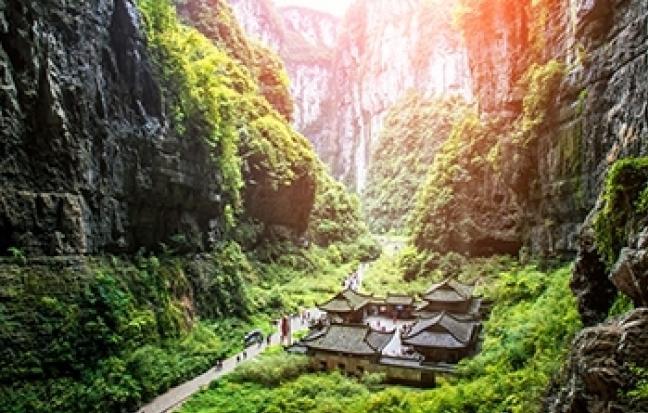 ทัวร์จีน จีน - ฉงชิ่ง - อู่หลง - อุทยานหลุมฟ้า - เลสโก - พยัคฆ์มังกร