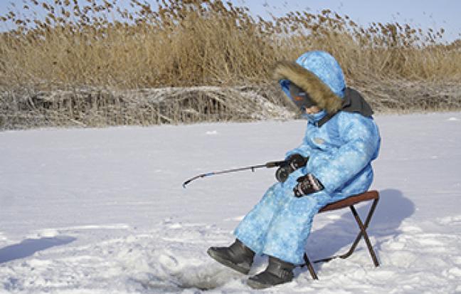 ทัวร์เกาหลี  언니  ICE FISHING