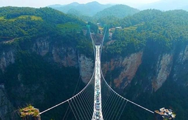 ทัวร์จีน บินตรง เชียงใหม่ ฉางซา จางเจียเจี้ย สะพานแก้ว
