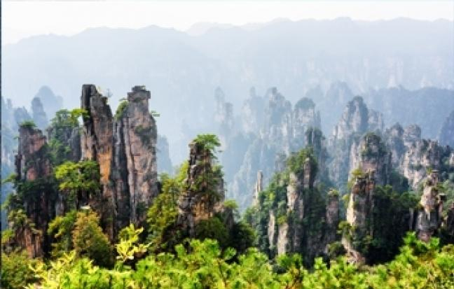ทัวร์จีน จางเจียเจี้ย เทียนเหมินซาน เขาอวตาร สะพานแก้ว
