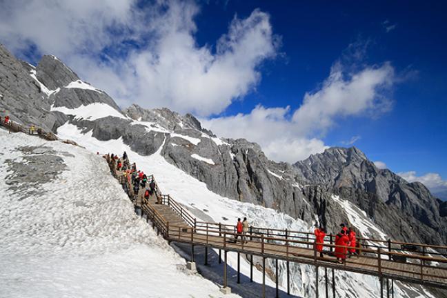 ทัวร์จีน มหัศจรรย? ลี่เจียง แชงกรีล่า - ภูเขาหิมะมังกรหยก